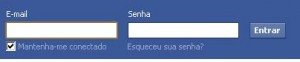 Login do Facebook